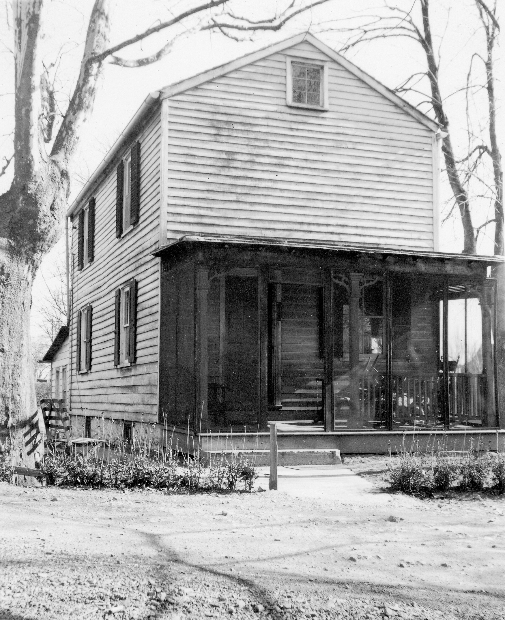 Port Mercer Bridge House; c1941