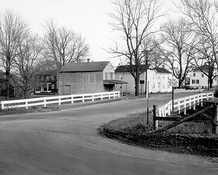 D&R Canal at Port Mercer; Stationary Bridge; 1954