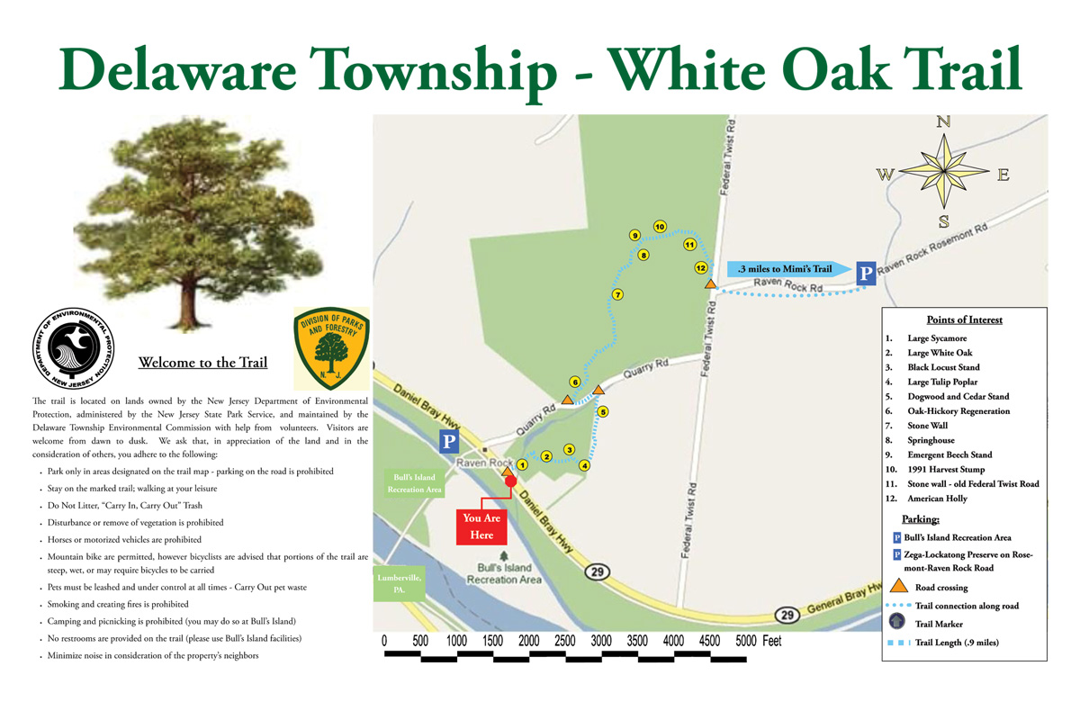 Delaware Township - White Oak Trail