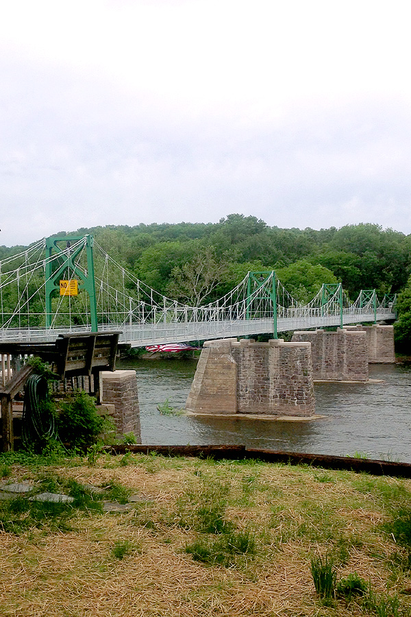 Scudders Fall Bridge Construction over D&R Canal